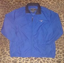 Vtg 90s POLO SPORT RALPH LAUREN Windbreaker Zip Off Sleeve Vest Jacket Sz L Blue