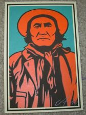 ERNESTO YERENA Print GERONIMO Handbill poster shepard fairey