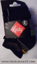 Lot de 2 paires chaussettes enfant Kindy 27/30 Ksport sous vêtement