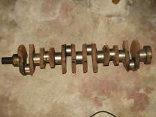 FORD XF FALCON 6CY 250 CROSSFLOW CRANKSHAFT ( GROUND )