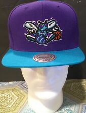 Mitchell&Ness Charlotte Hornets Snap Back Hat
