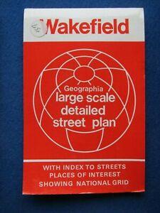 Geographia  Street Map & Street Index - Wakefield   c1978