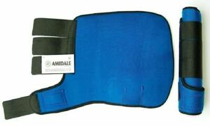 MEDICINE BRUSHING SUPPORT BOOTS HORSE EQUESTRIAN ROYAL BLUE COLOUR  BNWT