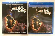 ASH vs EVIL DEAD: Season 3 (Blu-ray Disc + Digital, 2018) NEW