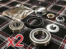 x2 VW MK1 MK2 MK3 Rabbit Golf Jetta Rear Wheel Bearing Kit -German-