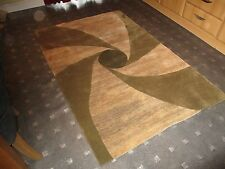 INDIAN 2000, HEMP,  6' x 4', BRAND NEW, DESIGNER RUG, HAND-KNOTTED...FREE DEL.