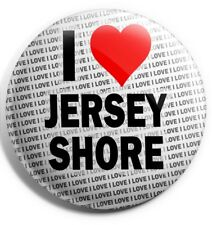 "I Love Jersey Shore Pin Badge 3"" 75mm  - Gift - Birthday - Stocking Filler"