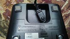 motorola md7001 5.8 ghz 2 line cordless phone handset base for md7001