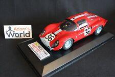 MG Model Ferrari Dino 206S Coupé 1966 1:18 #36 Salmon / Hobbs 24h LM (PJBB)