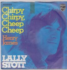 "7"" Lally Stott chirpy chirpy, Cheep Cheep/Henry James 70`s (versione cover)"