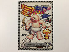 2010 USA Garbage Pail Kids FLASHBACK 1 SILVER CARD : 51b Dotted Lione - FB1