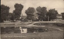 Tyler's Green near High Wycombe. The Pond by J.W.Prime, Beaconsfield.