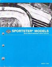 2010 Harley Sportster 883 XL883 XL1200 Parts Part Manual Catalog 99451-10A