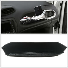 For Jeep Renegade 2015-2019 2020 Co-pilot Grab Bar Storage Tray With Rubber Mat