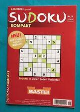 Bastei Sudoku kompakt Logisch Spezial Nr. 9 NEU + unbenutzt 1A abs. TOP