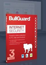 Download BullGuard Internet Security 2018 Protection Software 3 PC's MAC 1 Year