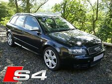 Audi S4 B6 Avant **BREAKING** - Black, Bose, Sat Nav, Cruise Manual (Wheel Nut)