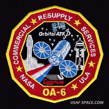 OA-6 Cygnus Mission ORBITAL ATK - ISS NASA COMMERCIAL RESUPPLY - ORIGINAL PATCH