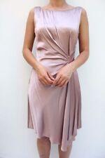 Ropa de mujer de color principal rosa de seda talla 38