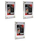 (3) Ultra Pro 1.3cm Lucite Stein 4-Screw Karte Halter Acryl Display SlabToploader-Hüllen & Kartenhalter - 183438