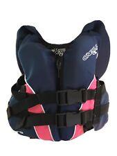 O'Neill Childs Superlite USCG Nylon Infant Life Jacket Kids Vest Pink Blue PFD