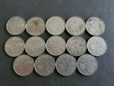 1922 to 1936 5 Cents George Canadian Nickels 14 coins -1926 Near Included #5