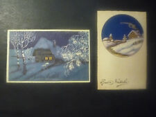 2 POSTCARD MERRY CHRISTMAS-intonse-First 900