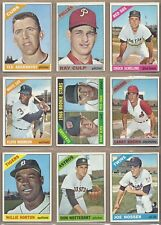1966 66 Topps YOU PICK SINGLES FROM #1-598 ALL HIGH GRADE NEAR MINT OR BETTER