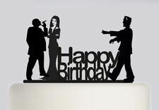 The Addams Family Happy Birthday Acrylic Cake topper .200