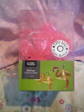 FLAMINGO STRING LIGHTS..PINK.. NEW IN BOX..INDOOR/PARTY DECORATION fab gift