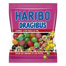 French Haribo Dragibus Original Candy Mini-Size 250g