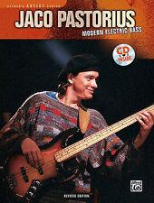 JACO PASTORIUS - MODERN ELECTRIC BASS GUITAR BOOK + CD
