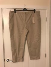 Marks and Spencer per Una ankle grazer trousers size 24