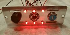 Cruzin Cooler Upgrades 51 Series Billet Rear Plate With Key & LED Tailights