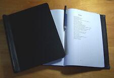"Springback Manuscript Binders for writers! 1.5"" thick Snap binder Thesis binder"