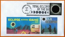 REXBURG, IDAHO  USA. Total Eclipse of the Sun. Postal Cover Pictorial Postmark