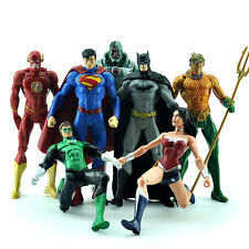 7 DC Universe Justice League Batman Superman Wonder Woman Action Figures Kid Toy