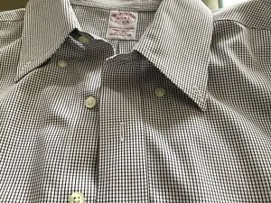 Men's Brooks Brothers Traditional Fit Non Iron 100% Cotton Shirt 16 1/2