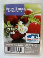Better Homes & Gardens Scented Wax Cubes 2.5 fl oz  Sunlit Strawberry Patch.