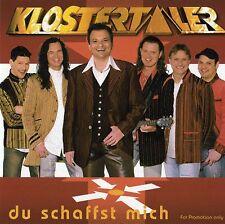 CD Klostertaler Du schaffst mich Maxi-CD