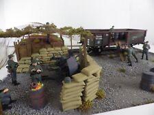 * Nuevo * Ferrocarril Alemán Tamiya Escala 1.35 de escena de bienes patio construido
