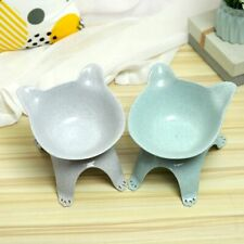 Elevated Bowls For Cats Durable Single Double Cat Bowls Raised Stand Cat Feeding