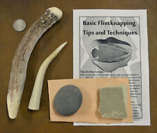 Antler Billet Knap Pack - Abo Tools for Flint Knapping Arrowheads and Blades