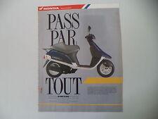 advertising Pubblicità 1990 HONDA SA 50 VISION