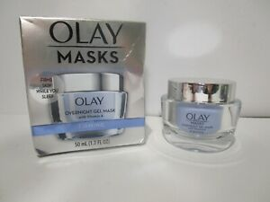 Olay Masks Firming Overnight Gel Mask With Vitamin A (1.7 oz) NEW *READ MORE*