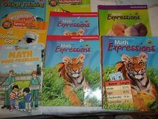 Lot 8 Level 2Nd 3Rd Grade Home School Books Math Critical Thinking Solar System