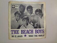 "BEACH BOYS: Do It Again-Wake The World-Sweden 7"" 1968 Capitol Records F 2239 PSL"