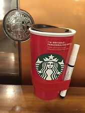 Starbucks Create Your Own Red Traveler New Holiday 2016