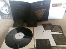 The Devil's Blood The Thousand Epicentre 2xLp test press with cardstock cards