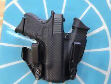 Crazy Eyes Holsters Glock G19, G23 IWB KYDEX holster mag carrier Sidecar holster